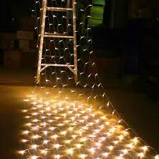 Ebay String Lights by 320led 4 5m 1 6m Bulb Mesh Net String Fairy Lights Wedding Party