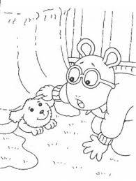 31 arthur friends coloring book images