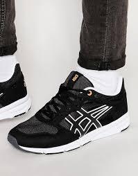 light grey mens shoes asics shaw runner black light grey men shoes online discount