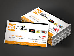 Youtube Business Card Personable Elegant Business Card Design For Jason Pinder By Mon01