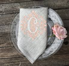 photo album monogrammed dinner napkins all can download all
