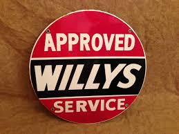 willys overland logo approved willys service sign on ebay ewillys