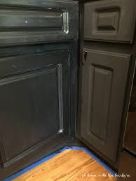 How To Paint Kitchen Cabinets At Home With The Barkers - Kitchen cabinet varnish