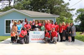 nissan frontier jackson ms nissan hands over keys to new canton habitat home madison county
