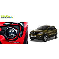 renault kwid red colour renault kwid chrome fog lamp covers online at low prices rideofrenzy