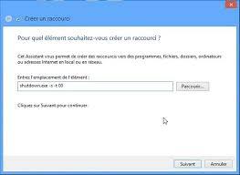 windows 8 raccourci bureau windows 8 1 une vignette pour arrêter l ordinateur médiaforma