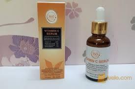 Serum Vitamin C Wajah serum vitamin c pencerah wajah dan pemutih wajah 30ml magelang jualo