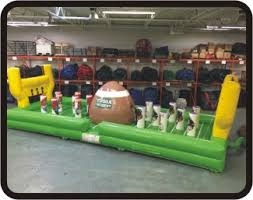 party rentals michigan tugga touchdown football kids party rentals