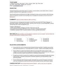 example of resume objective statement hitecauto us