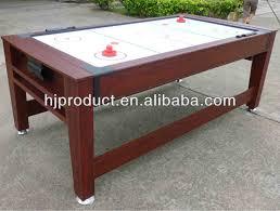 Air Hockey Coffee Table Reversible 2 In 1 Pool Table And Air Hockey Table Buy 3 In 1