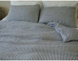 duvet covers grey stripe duvet cover canada natural linen