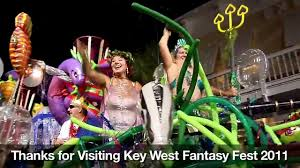 2011 fantasy fest parade highlights key west festival video