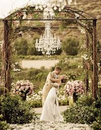 wedding arches outdoor unique outdoor wedding arch with chandelier
