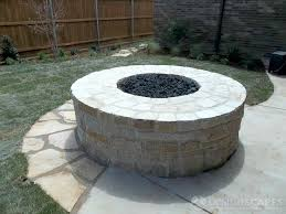 backyard fire pit designscapes of lubbock