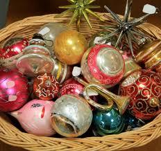 vintage christmas ornaments christmas palm tree