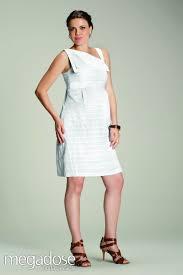 megadose moda gestante vestido curto pitinga branco gg moda gestante megadose r 99