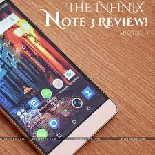 the infinix note 3 review airforce base oshodi as captured by its