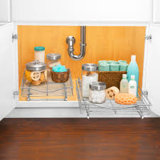 Kitchen Cabinets Slide Out Shelves by Lynk Professional Roll Out Cabinet Organizer Pull Out Under