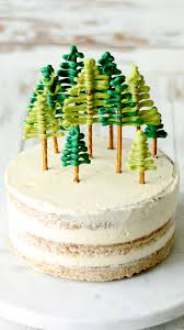 Christmas Tree Frosting Gingerbread Christmas Cake The Scran Line Tastemade