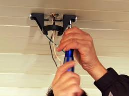 how to hang lights from ceiling install ceiling junction box retrofit electrical drywall how to