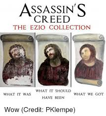 Ezio Memes - creed the ezio collection what it should what we got what it was