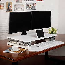 office depot standing desk flexispot height adjustable standing desk riser with removable