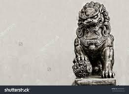 fu dog statues stock photo guardian lion foo fu dog guard statue 282566981
