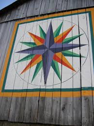 Barn Quilt Art Mariners Compass Quilt Barn Monroe Co Ohio Quilt Barns The