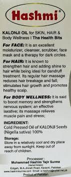 kalonji for hair growth hashmi black seed oil desi super market
