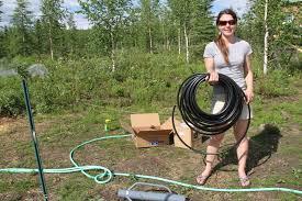 got gravity 10 steps to set up a low tech drip irrigation system