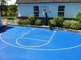 basketball courts with lights near me backyard basketball court neave group ny