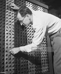 Eniac by Inventor J W Mauchly With Electronic Computer Pictures Getty Images