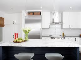 white backsplash kitchen industrial modern white kitchen 2014 hgtv