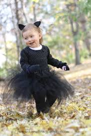 Black Cat Halloween Costume Kids Black Cat Tutu Halloween Costume U2013 Small Love