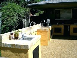 inexpensive outdoor kitchen ideas ideas for backyard patios cheap outdoor living pit ideas for