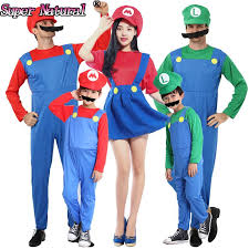 Quality Halloween Costumes Quality Kids Super Mario Bros Cosplay Costume Party