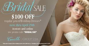 wedding sale camille la vie usa bridal sale camille la vie