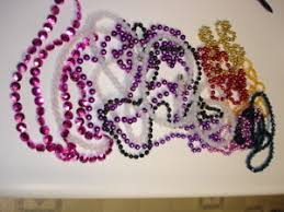 mardi gras beaded necklaces mardi gras necklaces purple hot bead colors teal