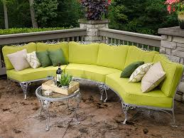 Curved Patio Sofa How To Make Cushions For A Curved Patio Set Sailrite