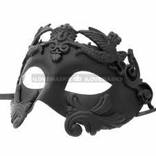 black masquerade masks for men black masquerade mask ebay