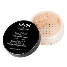 Bedak Nyx mineral finishing powder nyx professional makeup