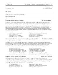 Construction Vice President Resume Project Assistant Cover Letter Gallery Cover Letter Ideas