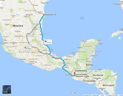 Vera Cruz Mexico Map by Driving From Guatemala To Brownsville Texas And Back June 2007