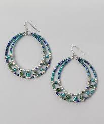 earrings ideas beaded hoop earrings craft ideas from lc pandahall earrings
