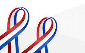 white and blue ribbon white and blue ribbon design card prepaid visa card