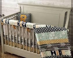 Complete Crib Bedding Set Neutral Crib Bedding Etsy