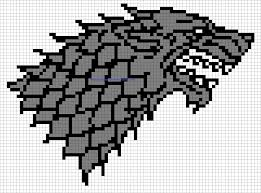 minecraft building templates minecraft pixel templates house stark badge of thrones