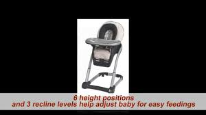 Graco High Chair 4 In 1 Graco Blossom 4 In 1 Seating System Youtube