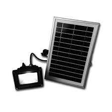 Green Flood Light Solar System Outdoor Solar Powered Lighting Green Energy Led