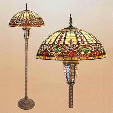 Stained Glass Light Fixtures Stained Glass Floor Lamp Shades Lightings And Lamps Ideas